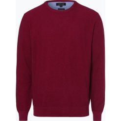 Andrew James - Sweter męski, różowy. Czerwone swetry klasyczne męskie Andrew James, l, z bawełny, z okrągłym kołnierzem. Za 129,95 zł.