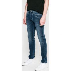 Pepe Jeans - Jeansy Cash St-Track. Niebieskie jeansy męskie regular Pepe Jeans. W wyprzedaży za 279,90 zł.