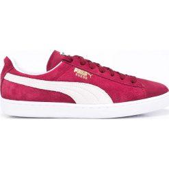 Puma - Buty Suede Classic+. Czerwone halówki męskie marki Puma, xl, z materiału. W wyprzedaży za 249,90 zł.