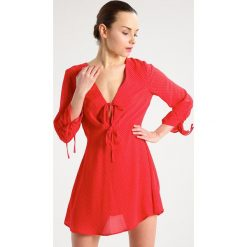 Sukienki hiszpanki: Topshop Petite Sukienka letnia red