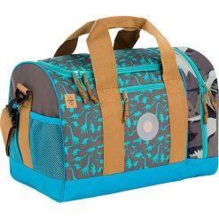 """Torby podróżne: Torba sportowa """"4Kids Mini Sportsbag"""" w kolorze oliwkowo-niebieskim – 40 x 29 x 25 cm"""
