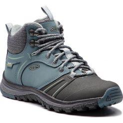 Trekkingi KEEN - Terradora Wintershell 1019893 Stormy Weather/Turbulence. Niebieskie buty trekkingowe damskie Keen. W wyprzedaży za 389,00 zł.