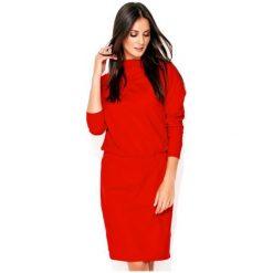 Numinou Sukienka Damska 38 Czerwony. Czerwone sukienki z falbanami marki Numinou. Za 189,00 zł.