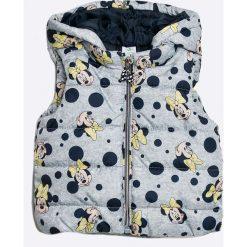 Blukids - Bezrękawnik dziecięcy Disney 68-98 cm. Szare kurtki dziewczęce przeciwdeszczowe marki DOMYOS, z elastanu, z kapturem. W wyprzedaży za 79,90 zł.