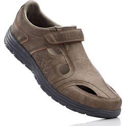 Buty z zapięciem na rzep Kappa bonprix brunatny. Brązowe buty skate męskie marki bonprix. Za 89,99 zł.
