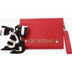 Love Moschino - Kopertówka damska, czerwony. Czerwone puzderka marki Love Moschino, z nadrukiem, z nadrukiem. Za 619,95 zł.