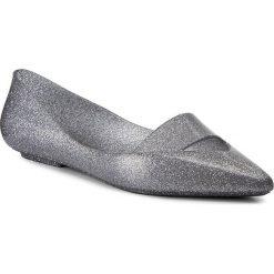 Baleriny MELISSA - Maisie Ad 31993 Glass Silver Glitter 03895. Szare meliski damskie marki Melissa, z gumy. W wyprzedaży za 189,00 zł.