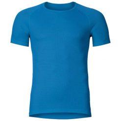 Odlo Koszulka męska Cubic niebieska r. S (140042). Niebieskie koszulki sportowe męskie marki Odlo, m. Za 149,95 zł.