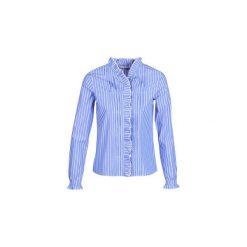 Koszule Maison Scotch  -. Niebieskie koszule damskie Maison Scotch, l. Za 459,00 zł.