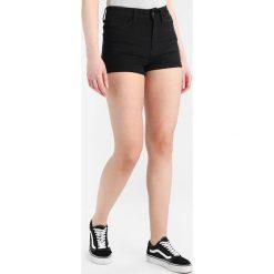 Bermudy damskie: GStar ULTRA HIGH SHORT  Szorty jeansowe ita black superstretch