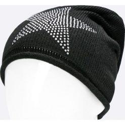 Haily's - Czapka. Czarne czapki zimowe damskie Haily's, na zimę, z dzianiny. W wyprzedaży za 29,90 zł.