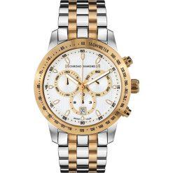 """Zegarki męskie: Zegarek kwarcowy """"Theseus"""" w kolorze złoto-srebrno-białym"""