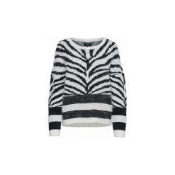 Swetry Only  JERSEY  onlELLI L/S PULLOVER BOX KNT. Białe swetry klasyczne damskie ONLY, l, z jersey. Za 177,40 zł.