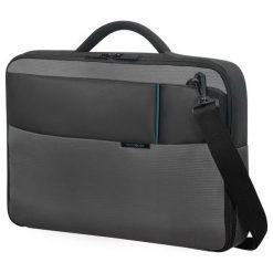"""Torba Samsonite do laptopa 15.6"""" Czarno-szara (16N-09-007). Czarne torby na laptopa marki Samsonite. Za 208,19 zł."""