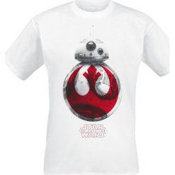 T-shirty męskie z nadrukiem: Star Wars Episode 8 – The Last Jedi – BB-8 T-Shirt biały