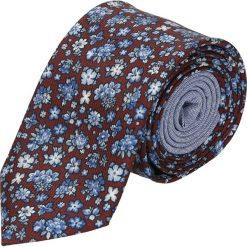 Krawaty męskie: krawat winman bordo classic 203