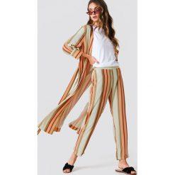 Paski damskie: Trendyol Spodnie w paski – Multicolor