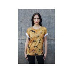T-shirt Prehistoric. Szare t-shirty męskie z nadrukiem marki Button. Za 83,30 zł.