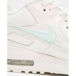 Nike Sportswear AIR MAX 90  Tenisówki i Trampki sail/igloo. Białe trampki chłopięce Nike Sportswear, z gumy, klasyczne. W wyprzedaży za 359,20 zł.