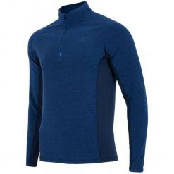 4F Męska Bluza Termoaktywna H4Z17 bimp002 Granatowy Melanż L. Niebieskie bejsbolówki męskie 4f, na zimę, l, melanż, z polaru, z długim rękawem, długie. W wyprzedaży za 63,00 zł.