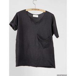 T-shirty damskie: Tshirt kieszeń oversize