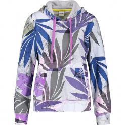 Bluza w kolorze szarym ze wzorem. Szare bluzy z kieszeniami damskie marki Taifun, z bawełny. W wyprzedaży za 121,95 zł.