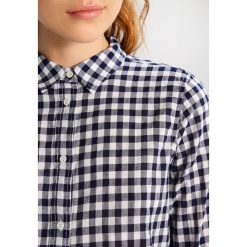 Koszule wiązane damskie: J.CREW CRINKLE GINGHAM Koszula navy