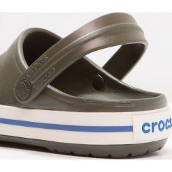 Crocs CROCBAND UNISEX Sandały kąpielowe dark green. Różowe kąpielówki męskie marki Crocs, z materiału. W wyprzedaży za 143,20 zł.