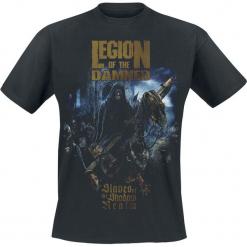Legion Of The Damned Slaves of the shadow realm T-Shirt czarny. Czarne t-shirty męskie Legion Of The Damned, xl. Za 74,90 zł.