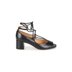 Sandały Betty London  GOMA. Czarne sandały damskie marki Betty London. Za 335,20 zł.