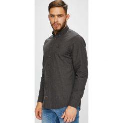Tommy Hilfiger - Koszula. Czarne koszule męskie na spinki TOMMY HILFIGER, l, z bawełny, button down, z długim rękawem. Za 359,90 zł.
