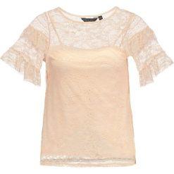 Bluzki asymetryczne: Dorothy Perkins RUFFLE Bluzka peach