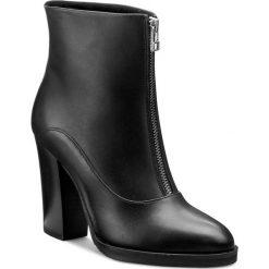 Botki GINO ROSSI - Matera DBH121-T05-E100-9900-F 99. Szare buty zimowe damskie marki Gino Rossi, z gumy. W wyprzedaży za 329,00 zł.