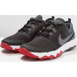 Nike Performance FI IMPACT 2 Obuwie do golfa black/metallic dark grey/gym red. Czarne buty do tenisa męskie marki Nike Performance, z materiału. W wyprzedaży za 399,20 zł.