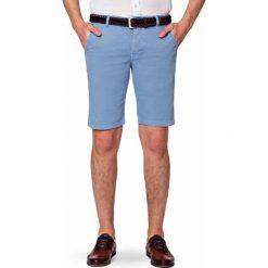 Spodenki Niebieskie Atlantico. Niebieskie szorty męskie marki LANCERTO, na lato, z bawełny. W wyprzedaży za 199,90 zł.