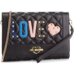 Torebka LOVE MOSCHINO - JC4226PP06KC0000 Nero. Czarne torebki klasyczne damskie Love Moschino, ze skóry ekologicznej. Za 719,00 zł.