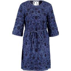 Sukienki hiszpanki: Needle & Thread WILD MEADOW Sukienka jeansowa bleach indigo