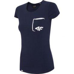 T-shirty damskie: T-shirt damski TSD010 – ciemny granatowy