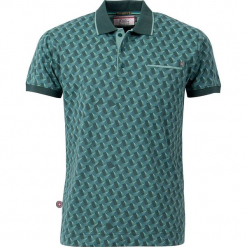 """Koszulka polo """"Pushin' On"""" w kolorze morskim. Niebieskie koszulki polo marki 4funkyflavours Women & Men, m, z bawełny. W wyprzedaży za 131,95 zł."""