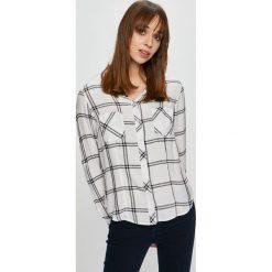Tally Weijl - Koszula. Czerwone koszule damskie w kratkę marki TALLY WEIJL, l, z dzianiny, z krótkim rękawem. Za 69,90 zł.