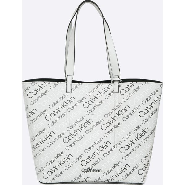 d4a90ecb6eb4e Calvin Klein - Torebka - Szare torebki klasyczne damskie Calvin ...