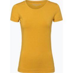 Marie Lund - T-shirt damski, żółty. Żółte t-shirty damskie Marie Lund, m, z bawełny. Za 39,95 zł.
