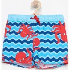 Szorty kąpielowe - Niebieski. Niebieskie kąpielówki chłopięce marki Reserved. W wyprzedaży za 24,99 zł.