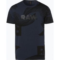 G-Star - T-shirt męski, niebieski. Niebieskie t-shirty męskie marki G-Star, m, z bawełny. Za 119,95 zł.