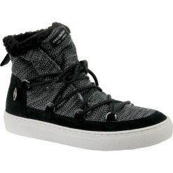Skechers Side Street 73578-BLK. Czarne buty trekkingowe damskie Skechers, na zimę. W wyprzedaży za 249,99 zł.