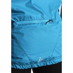 Craft VELO CONVERT Kurtka przeciwdeszczowa teal/typhoon. Czarne kurtki damskie przeciwdeszczowe marki Craft, xxl, z materiału. W wyprzedaży za 335,20 zł.