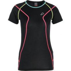 Topy sportowe damskie: KariTraa LISE TEE Tshirt z nadrukiem black