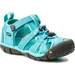Sandały KEEN - Seacamp II Cnx 1012550 Baltic/Caribbean Sea. Niebieskie sandały chłopięce marki Keen, z materiału. Za 239,95 zł.