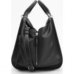 Torba z ozdobnym zamkiem - Czarny. Czarne torebki klasyczne damskie Reserved. Za 149,99 zł.