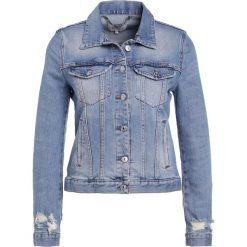 Bomberki damskie: 7 for all mankind MODERN TRUCKER Kurtka jeansowa eclipse blue